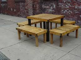 Pallet Outdoor Chair Plans by Pallet Patio Ideas
