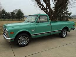 100 1969 Gmc Truck For Sale 69 2wd Pickup Classic Show Original Motor Transmission 305 V6