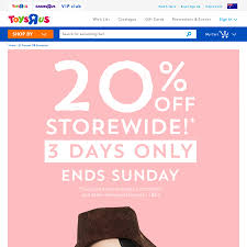 20% Off Storewide* @ Toys R Us & Babies R Us - Online And Instore ... R Club Toys Us Canada Loyalty Program R Us Online Coupons Codes Free Shipping Wcco Ding Out Deals Toysruscom Coupon Active Sale Toy Stores In Metrowest Ma Mamas Toysrus Australia Youtube Home Coupon Codes Super Hot Deals Lego Advent Calendar 50 Discount Until 30 Flyers Cyber Monday Ad Is Live Pinned July 7th Extra Off A Single Clearance Item At