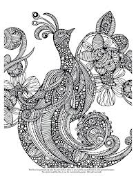 Awesome Psychedelic Coloring Pages Print New Bird Colouring Page Birds Secretary Singing Kids