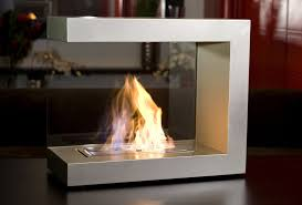 modern portable fireplace Home Design And Decor