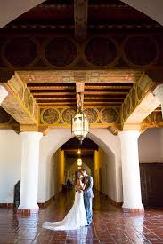 santa barbara courthouse mural room wedding andrea robert