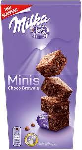 milka minis choco brownie 117g