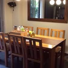 Solid Teak With Granite Dining Table Set Johor Bahru Furniture Tables Chairs On Carousell
