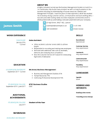 CV Examples | The Best CV Samples For 2019 | StudentJob UK Executive Resume Examples Writing Tips Ceo Cio Cto College Cover Letter Example Template Sample Of For Resume Experience Sample Caknekaptbandco A With No Work Experience Awesome Project Manager Full Guide 12 Word Cv The Best Samples For 2019 Studentjob Uk Free Professional And Customer Service Receptionist Monstercom Document Examples High School Students Little Management