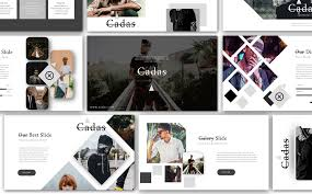 100 Cadas Creative Presentation PowerPoint Template 74351