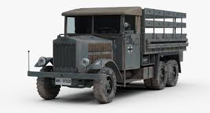 3d Model Ww2 German Krupp Truck | Военная техника | Pinterest ...