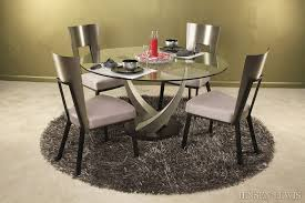 Raymour And Flanigan Round Dining Room Tables by Elite Crystal Round Dining Table 394rnd 48 Jensen Lewis New York