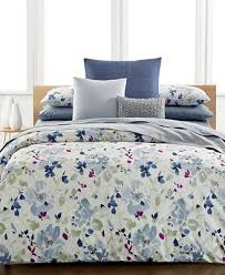 closeout calvin klein watercolor peonies bedding collection