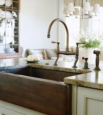 Copper Sinks With Drainboards by 183 Best Kitchen Sink Faucets Images On Pinterest