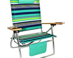 Copa Beach Chair With Canopy by Review 18 Inches High Seat Big Tycoon Beach Chair U2013 Green Blue By