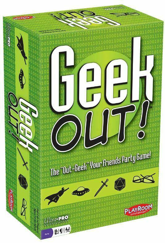 Playroom Entertainment Geek Out Card Game