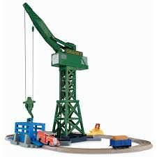 Thomas And Friends Tidmouth Sheds Trackmaster by Cranky And Flynn Save The Day Thomas And Friends Trackmaster