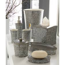 Yellow And Grey Bathroom Accessories Uk by Furniture U0026 Accessories Completing Bathroom Accessories In Modern