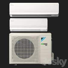 3d models household appliance daikin fthm r32 inverter