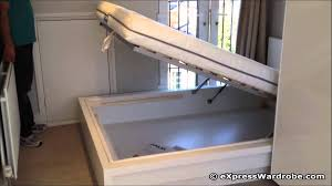 Ikea Sultan Bed Frame by Ikea Malm Storage Bed Design Youtube