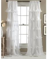 Lush Decor Serena Window Curtain by Find The Best Deals On Lush Decor Riley Window Curtain 84 By 54
