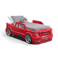 100 Kids Truck Bed Step2 Turbocharged Twin Red 4830KR Room Sets
