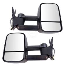 Towing Mirror Power Textured Black Pair Set For Chevy GMC C/K Pickup ... 8097 Ford Fseries Bronco Mirror Adapter Plates For 9907 Chevy Rearview Wikipedia 072014 F150 Tow Mirrors With Puddle Lights Black Textured S3mf150tm Running Boards Bed Accsories Wind Deflectors Truck Mirrors New Aftermarket Tow Dodge Diesel Truck Resource Motorcycle Economy Mirror Kit Aftermarket Accsories Universal Door Suit 2wd 4wd Tray Back Ute Or Models 0814 Ford Pickup Set Of Side Power Heated Best Towing 2018 Hitch Review Lvadosierracom Nnbs Parts Motor Buy At Price In Malaysia Www