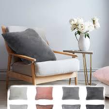 moderne deko kissen schaffell lammfell kunstfell 45x45cm in versch farben vimoda homestyle