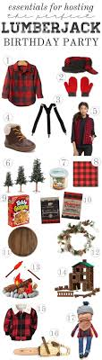 Essentials For A Mandly Lumberjack Party