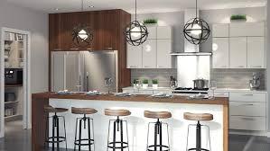 cuisine moderne conception cuisine but great meubles blanc et bois clair et