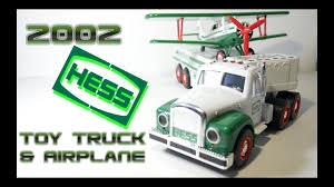 2002 Hess Toy Truck And Airplane Video Review - YouTube Amazoncom Hess 1997 Toy Truck With 2 Racers Toys Games Toys Values And Descriptions Set Of 16 Hess Miniature Trucks 1998 To 2013 Nib 1869019 Trucks Lot 1999 2000 2001 New In The Box For Recreation Van Dune Buggy 3 Pin Back Button On Sale With Motorcycle Ebay Posts Facebook Tanker Truck First In A Series Mib Tanker This Is The First Mini Knock Off Truck Youtube Trucks Roll Out Every Winter Bring Joy To Collectors