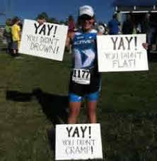 20 Great Triathlon Spectator Signs
