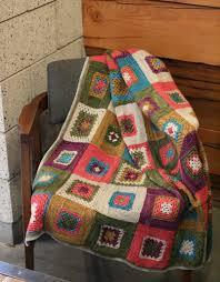 Granny Log Cabin Blanket Miriam Felton