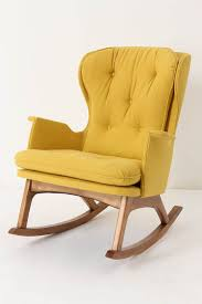 100 Rocking Chair With Pouf Yellow Rocker Would Love This In A Future Nursery A Bit Pricey