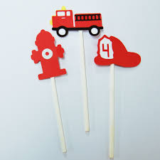 Fire Truck Cupcake Toppers – PartyAtYourDoor Fire Engine Cupcake Toppers Fire Truck Cupcake Set Of 12 In 2018 Products Pinterest Emma Rameys Firetruck 3rd Birthday Party Lamberts Lately Fireman Firehouse Etsy Monster Cake Ideas Edible With Free Printables How To Nest For Less Refighter Boy Truck Topper Image Rebecca Cakes Bakes Pin By Diana Olivas On Diana Cupcakes Fondant Red Yellow Rad Hostess The Mommyapolis