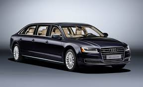 Audi Builds a Six Door A8L Extended for e Special Customer