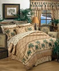 Karin Maki Kona Palm Tree Tropical Bedding forter Set or Bed in