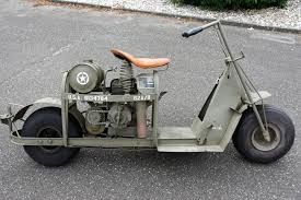 1944 Cushman Model 53 G683 Airborne Infantry Scooter