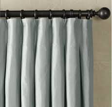 restoration hardware thai silk inverted pleat drapery panel love