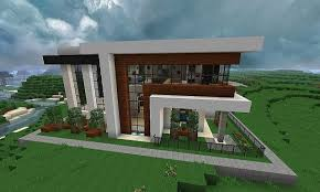 100 Modern Houses Blueprints Minecraft Two Story House Fresh Minecraft House