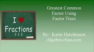 Online Algebra Tiles Factoring by Gcf Factor Tree Tn Jpg