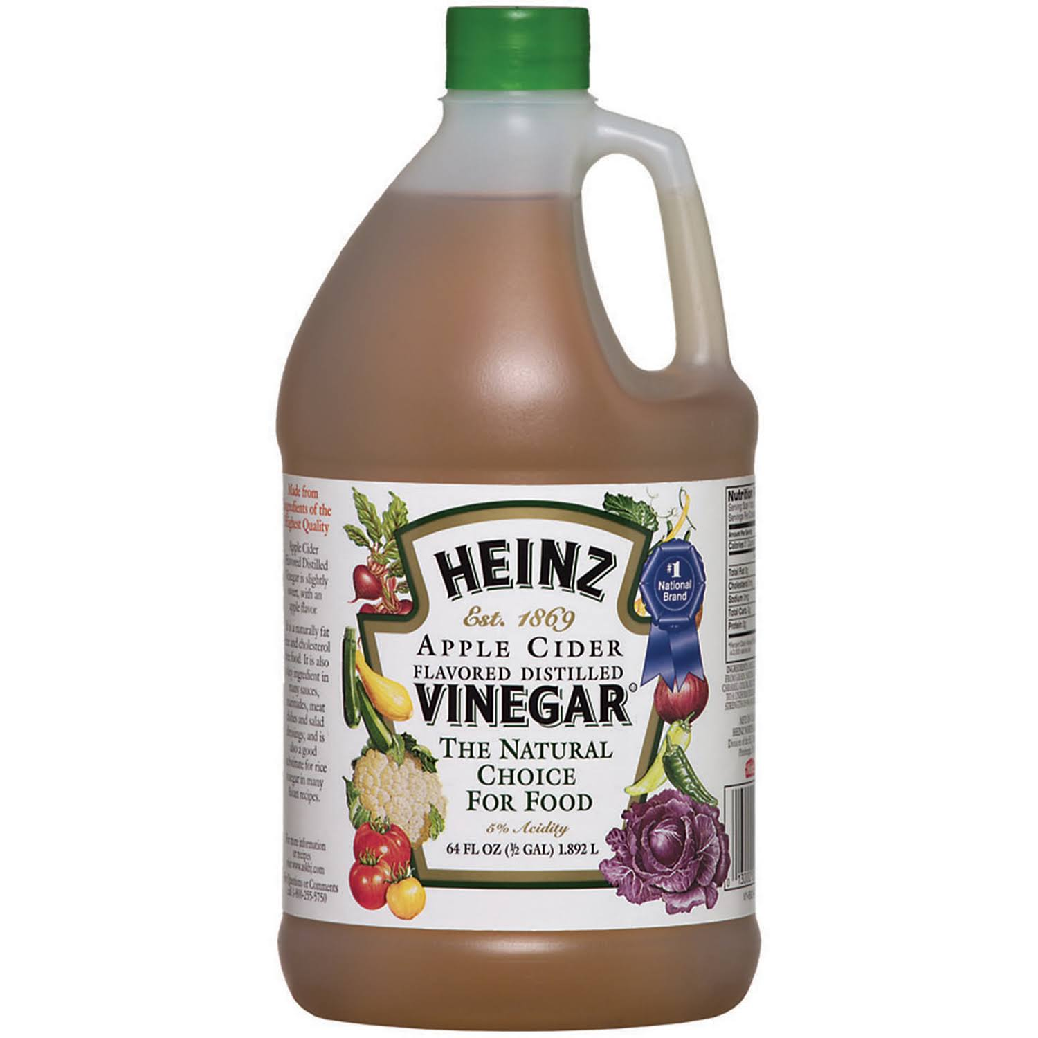 Heinz Distilled Apple Cider Vinegar - 64oz