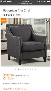 Pin By Trinica Taylor On Furniture | Accent Chairs, Upholstered ... Photo 7 Of 15 In Designer Hilton Carters Bodacious Baltimore Pad Fairfield 1458 Traditional Ottoman With Turned Legs And Casters Office Armchair Leather Recling On Casters G Sydney Chair With Brass Caster Lexington Home Brands Shop Fabric Upholstered Wooden Sofa Nail Head Trim Kitchen Where To Buy Ding Chairs Cheap And Bench Reviews Birch Lane Amazoncom Divano Roma Fniture Classic Tufted Faux Leather Industrial Fniture Decor Ideas For Your Overstockcom Homespot Lola Velvet Accent Gold Or Silvertone Metal Base Safavieh Chloe Taupejava Linen Club Arm Mcr4571b The Depot