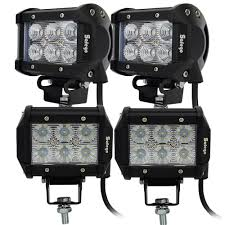 4pcs 4 Inch Led Driving Lights 6pcs*3W SUV UTE 4X4 OFFROAD CAR BOAT ... Zroadz Bumper Mounted Led Lights 42018 Toyota Tundra Hood Grille Knight Rider Light Bar Kit 4 X Red Strobe Flashing Breakdown Truck Recovery Lorry Cree W Flush Mount Led Epic Submersible 4pcs Inch Led Driving Lights 6pcs3w Suv Ute 4x4 Offroad Car Boat 2018 22w 4960inch Fxible Car Tailgate Best Choice Products 12v Kids Rc Remote Control Suv Ride On 2x 17 80w Single Row Slim Low Profile Backup Reverse Costway 12v Mp3 Jeep Rc Set Of 2 24v Yellow Side Marker Light Lamp Indicator Truck Hightech Lighting Rigid Industries Adapt Recoil