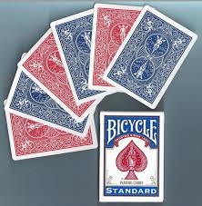 Bicycle Gaff Deck Uspcc by 1 Deck Bicycle Double Back Red Blue Gaff Magic Playing Cards Ebay