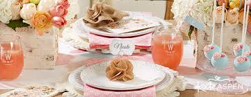 Rustic Bridal Shower Favors And Decor
