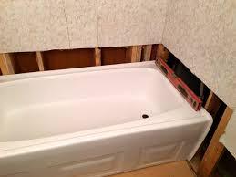 Tiling A Bathtub Alcove by How To Install A New Bathtub Angie U0027s List