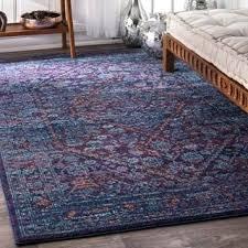 nuLOOM Persian Mamluk Diamond Purple Rug 8 x 10
