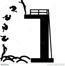 High Diving Illustration 6887666
