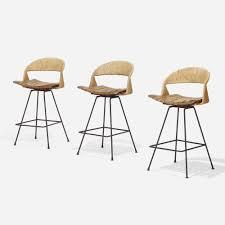 100 Design 21 17 307 Arthur Umanoff Bar Stools Set Of Three American Design