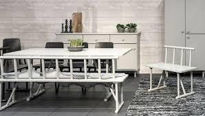 tenzo grain designer sitzbank bank massiv holz grau esszimmer küche neu ovp