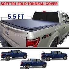 100 F 150 Truck Bed Cover TURBOSII Or Models 20042014 Ord Soft Trifold
