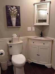 Small Corner Bathroom Sink And Vanity by Best 25 Corner Bathroom Vanity Ideas On Pinterest His And Hers