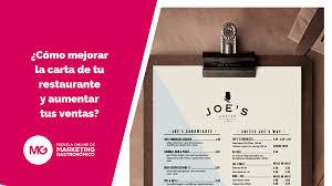 Carta Para Ninos Restaurante